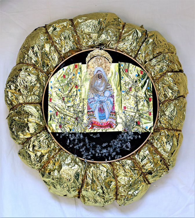 "ICON ""HOLY WREATH"""